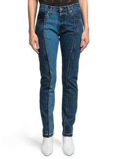 PRPS Amx Tricolor Pieced Jeans