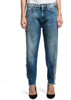 PRPS Bel Air Distressed Loose Tapered Boyfriend Jeans