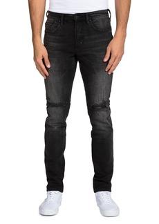 PRPS Black Fade Slim Fit Jeans in Black