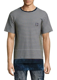 PRPS Check Knitted Tee