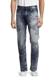 Prps Congress Acid-Wash Five-Pocket Jeans