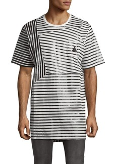 PRPS Cotton Candy Casual Striped Tee