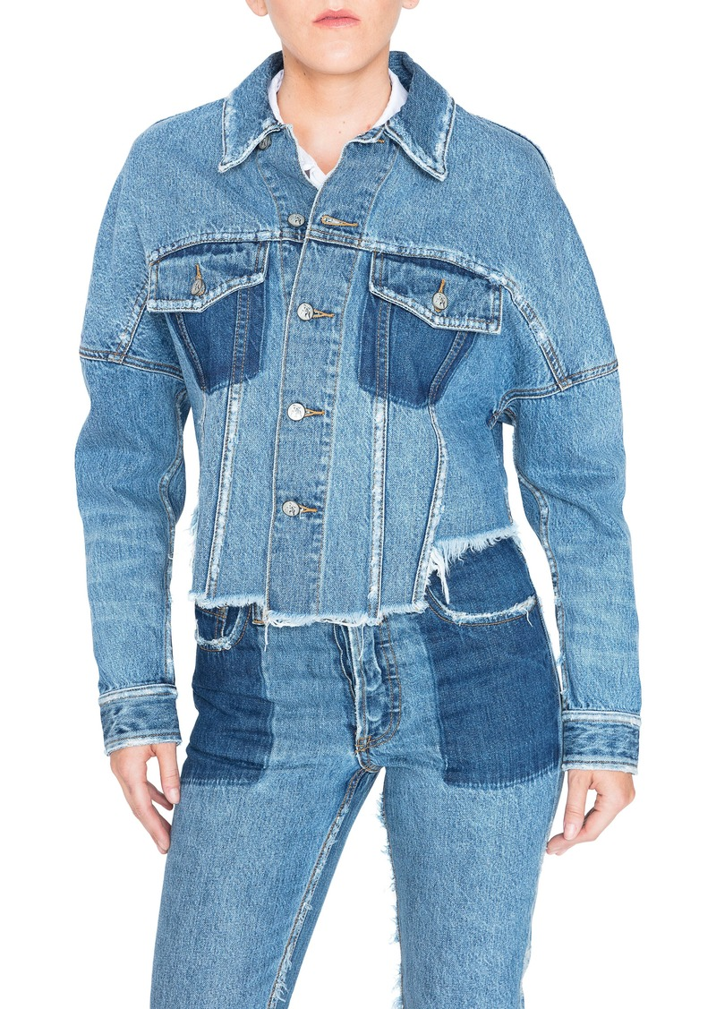PRPS Crop Denim Jacket