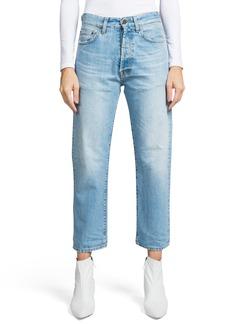PRPS Crop Slim Boyfriend Jeans