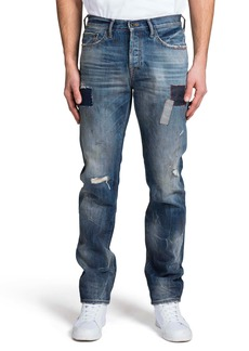 PRPS Demon Ripped Slim Straight Leg Jeans (Stockholm)