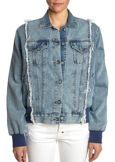 PRPS Denim Bomber Jacket