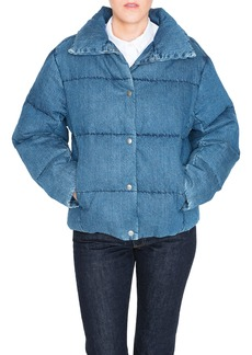 PRPS Denim Down Puffer Jacket
