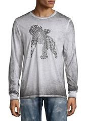 PRPS Faded Cherub Logo Long-Sleeve T-Shirt