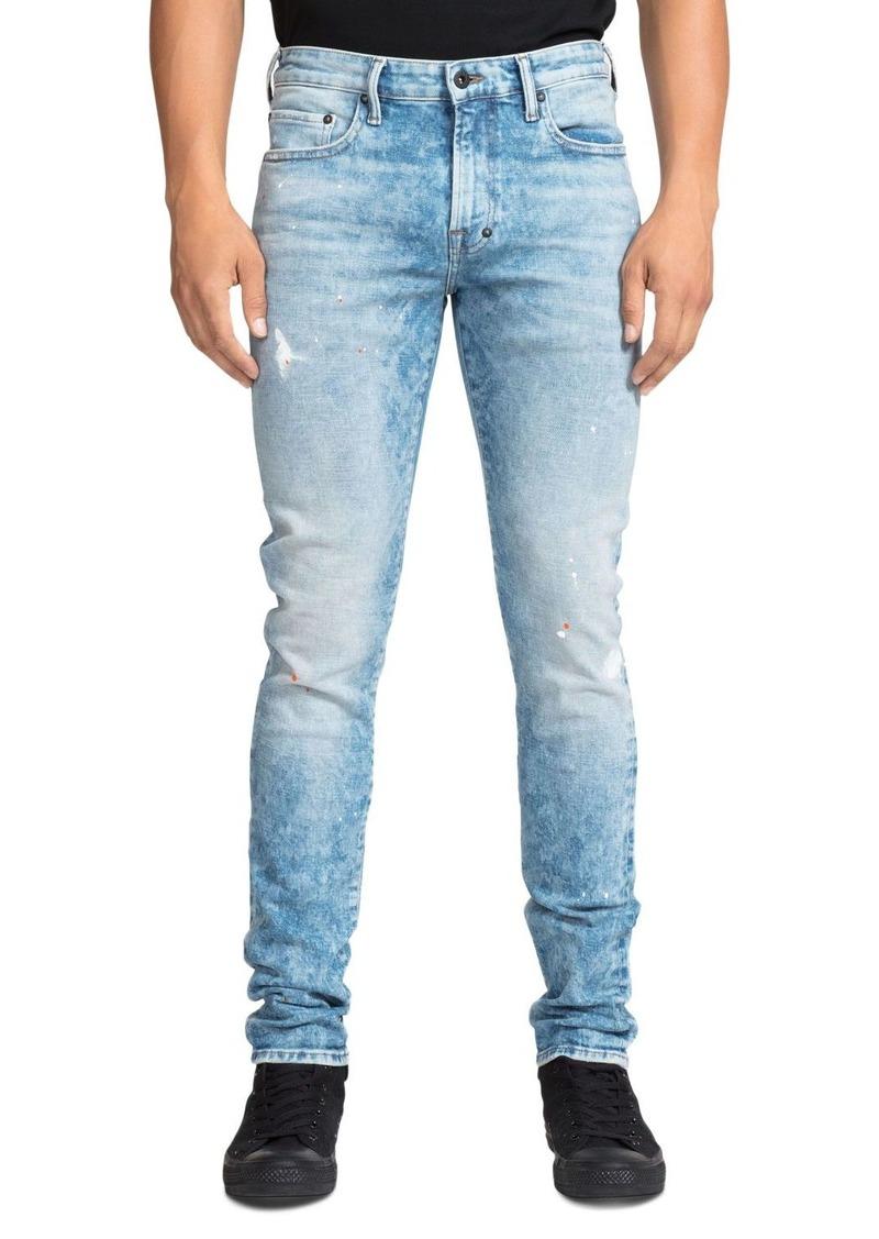PRPS Fullerton Acid-Wash Skinny Fit Jeans in Indigo