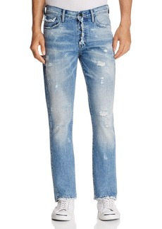 PRPS Goods & Co. Bonfire Demon Slim Fit Jeans in Light Wash