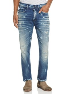 PRPS Goods & Co. Cornstalks Destroyed Slim Fit Jeans in Blue