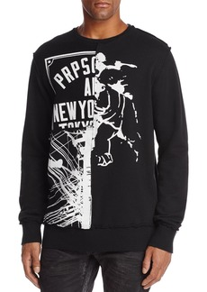PRPS Goods & Co. Graphic Logo Crewneck Sweatshirt