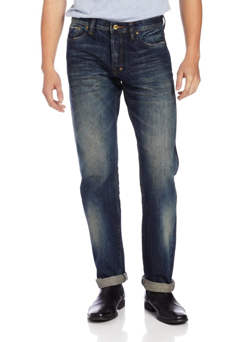 PRPS Goods & Co. Men's Barracuda Regular Fit Straight Leg Selvedge Jean in
