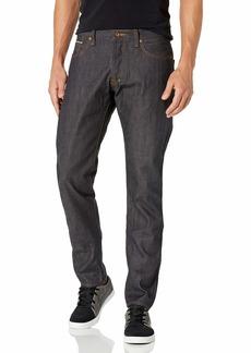 PRPS Goods & Co. Men's Barracuda Straight Leg Jean Indigo Selvedge Jean in