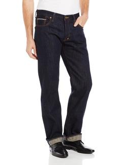 PRPS Goods & Co. Men's Barracuda Straight Leg Selvedge Jean in