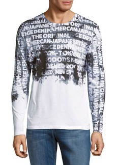 PRPS Graphic-Print Long-Sleeve Cotton Tee
