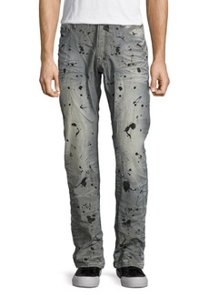 Prps Income Splatter-Print Jeans