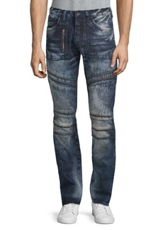 Prps Krill Acid Wash Zipper Jeans