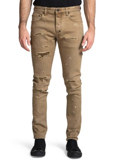 PRPS Le Sabre Distressed Slim Fit Jeans (Jericault)