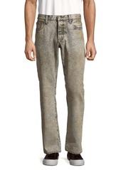 PRPS Mid-Rise Cotton Jeans