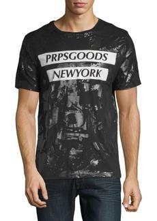 PRPS Print Cotton T-Shirt