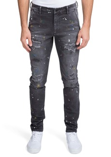 PRPS Ripped & Painted Slim Fit Jeans (Maryville)