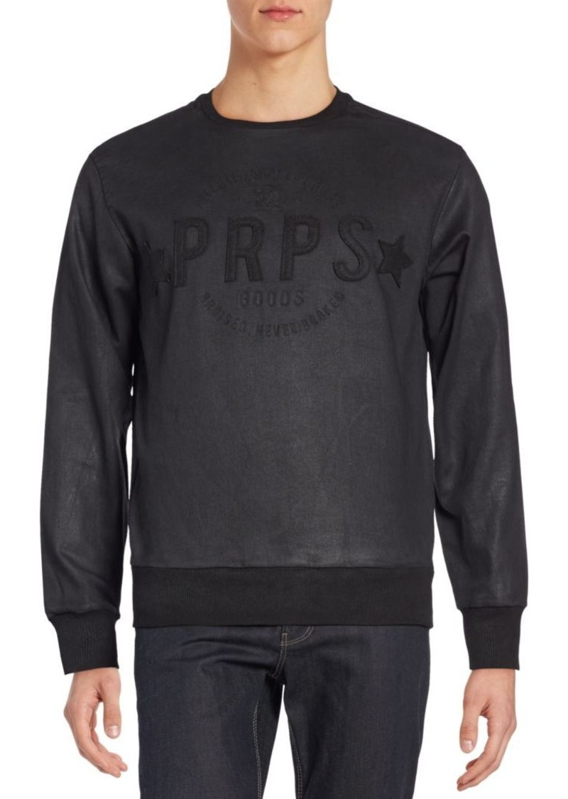 PRPS Ryo Coated Sweatshirt