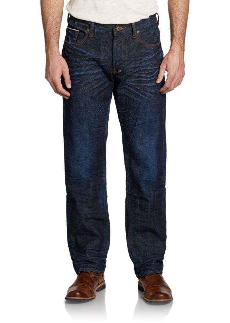 PRPS Snowy Crevasses Straight-Leg Jeans