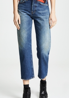 PRPS Super Relaxed Cropped Boyfriend Jeans