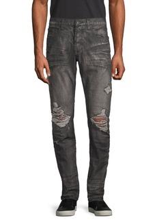 Prps Slim Tapered-Fit Distressed Dark Jeans