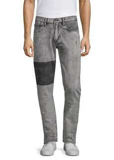 Prps Windsor Striped Leg Skinny-Fit Jeans