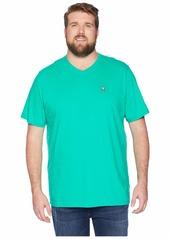 Psycho Bunny Big and Tall V-Neck T-Shirt