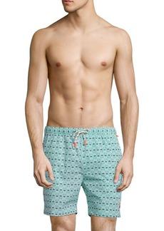 Psycho Bunny Bunny Print Swim Shorts
