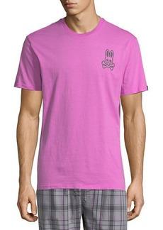 Psycho Bunny Classic Logo Crewneck Lounge T-Shirt