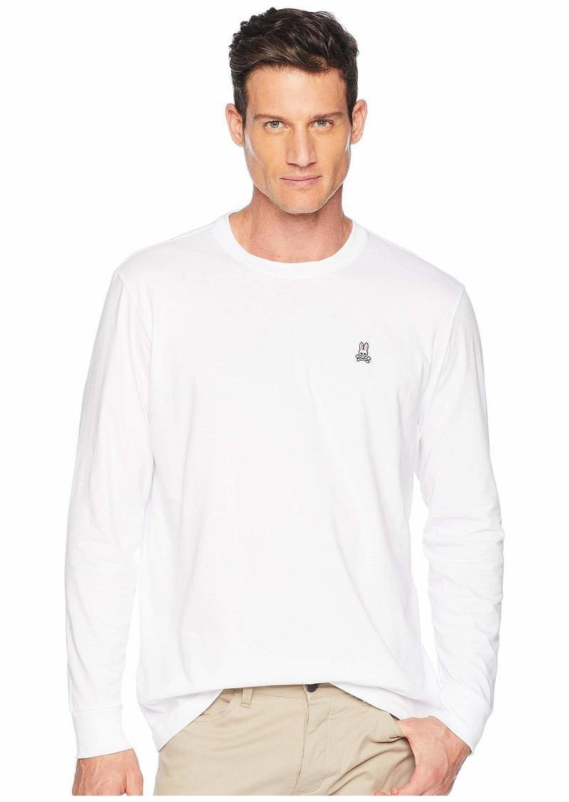 Psycho Bunny Crew Neck Long Sleeve T-Shirt