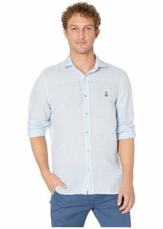 Psycho Bunny Kelso Long Sleeve Linen Shirt