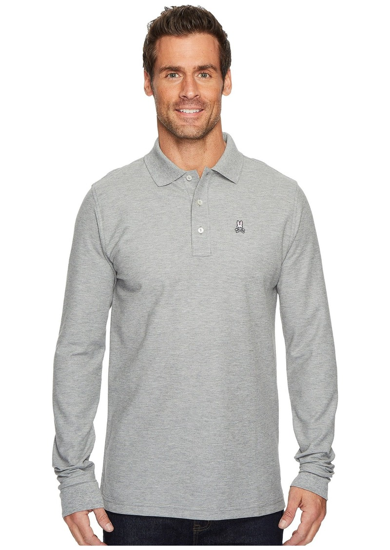 Psycho Bunny Long Sleeve Classic Polo