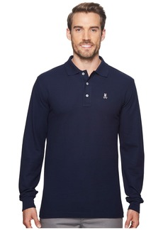 Psycho Bunny Long Sleeve Classic Polo