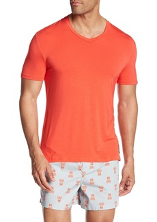 Psycho Bunny Lounge Stretch Modal V-Neck T-Shirt