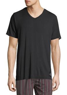Psycho Bunny Luxe V-Neck Tagless Jersey Lounge T-Shirt