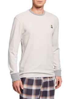 Psycho Bunny Men's Apex Ringer Crewneck Shirt