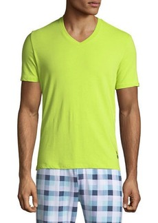 Psycho Bunny Men's Bright V-Neck Lounge T-Shirt