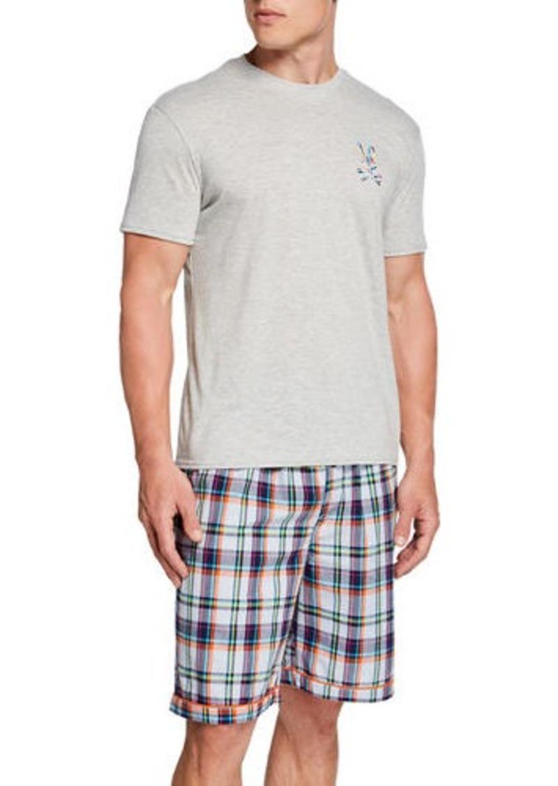 Psycho Bunny Men's Bunny Crewneck T-Shirt