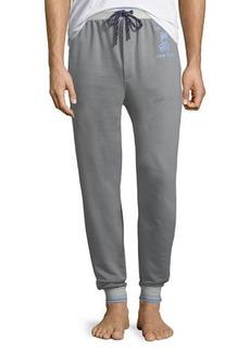Psycho Bunny Men's Cotton-Blend Jogger Lounge Pants