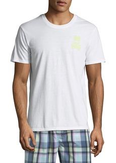 Psycho Bunny Men's Logo Crewneck Lounge T-Shirt