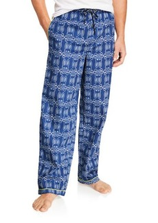 Psycho Bunny Men's Logo Print Pajama Set