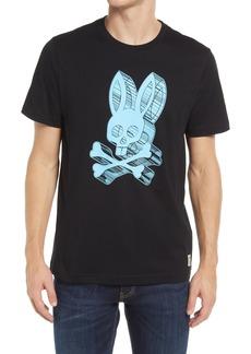 Men's Psycho Bunny 3D Bunny Graphic Tee