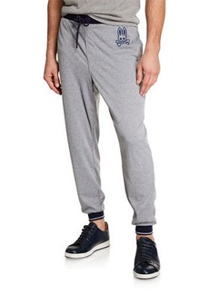 Psycho Bunny Men's Summit Drawstring Jogger Pants