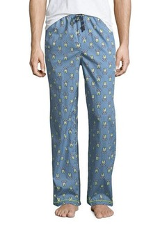 Psycho Bunny Men's Woven Lounge Pants