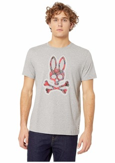 Psycho Bunny Plaid Bunny Graphic Tee